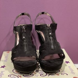 Wedges - like new. Worn once
